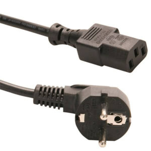 کابل برق سه پین منبع تغذیه کامپیوتر