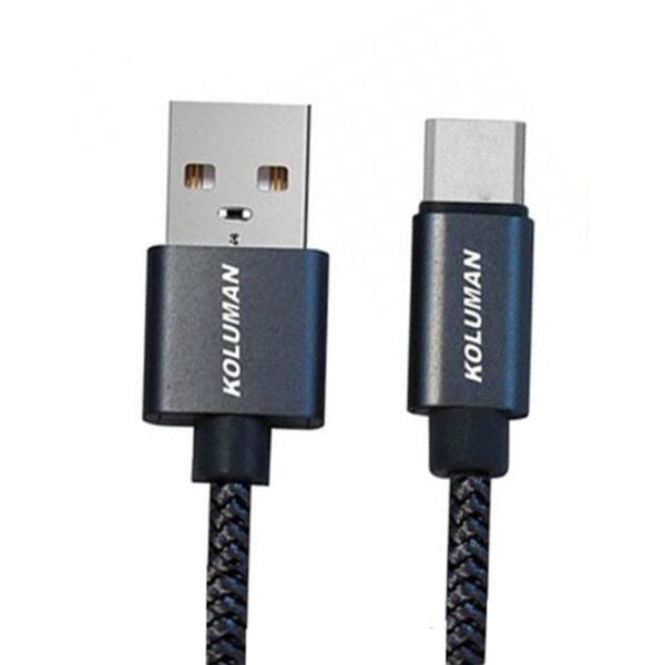 کابل تبدیل USB به Type-C کلومن مدل KD-30 طول 1 متر