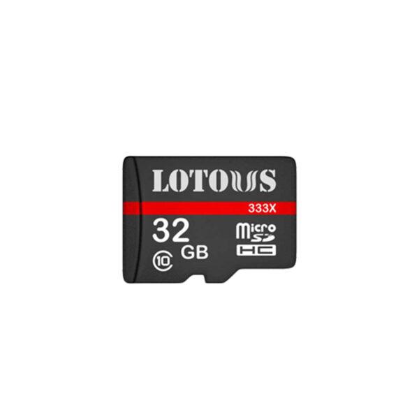 کارت حافظه 32 گیگ لوتوس مدل 333X کلاس 10 استاندارد
