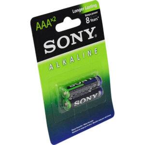 باتری نیم قلمی سونی آلکالاین مدل AM4L-B2D بسته 2 عددی